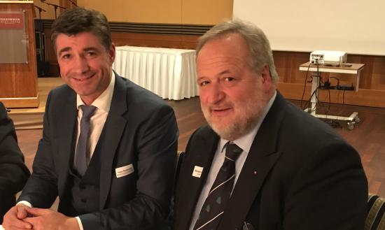 Hagen Reinhold und Michael vom Baur