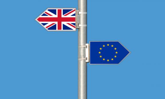 Brexit Schilder